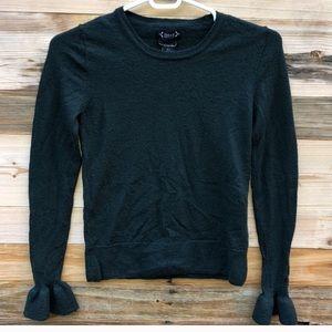 Nanette Lepore | Green Merino Wool Sweater Small